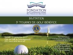 5ème Tournoi de Golf Bénéfice